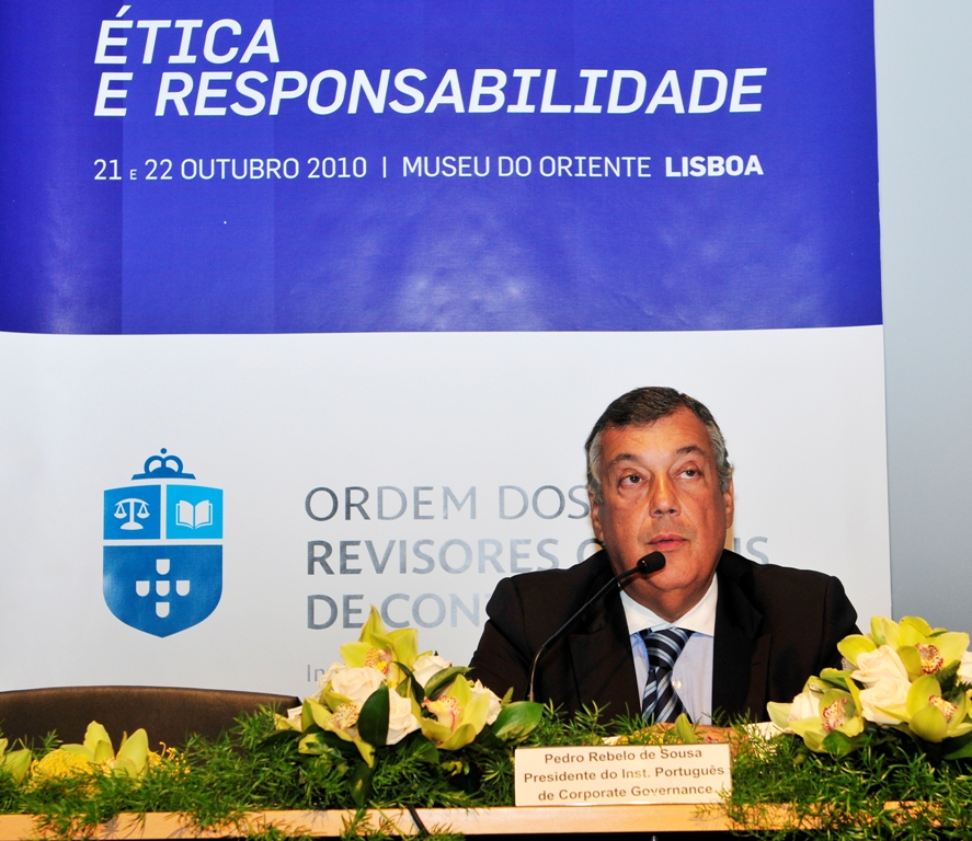 Pedro Rebelo de Sousa - Presidente do IPCG